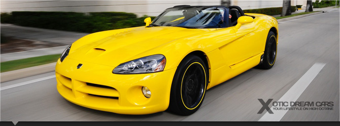 Dodge Viper SRT 10 Convertible
