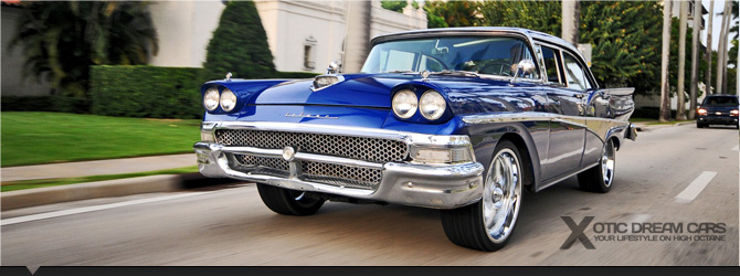 Ford Fairlane Classic - Custom Muscle Car